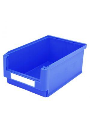 Sichtlagerkasten, HxBxT 20x315x500/450mm, PP, blau